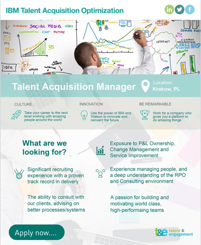 IBM Recruitment Ad
