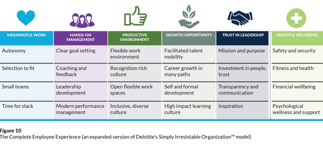Deloitte's Irrisistable Org Model