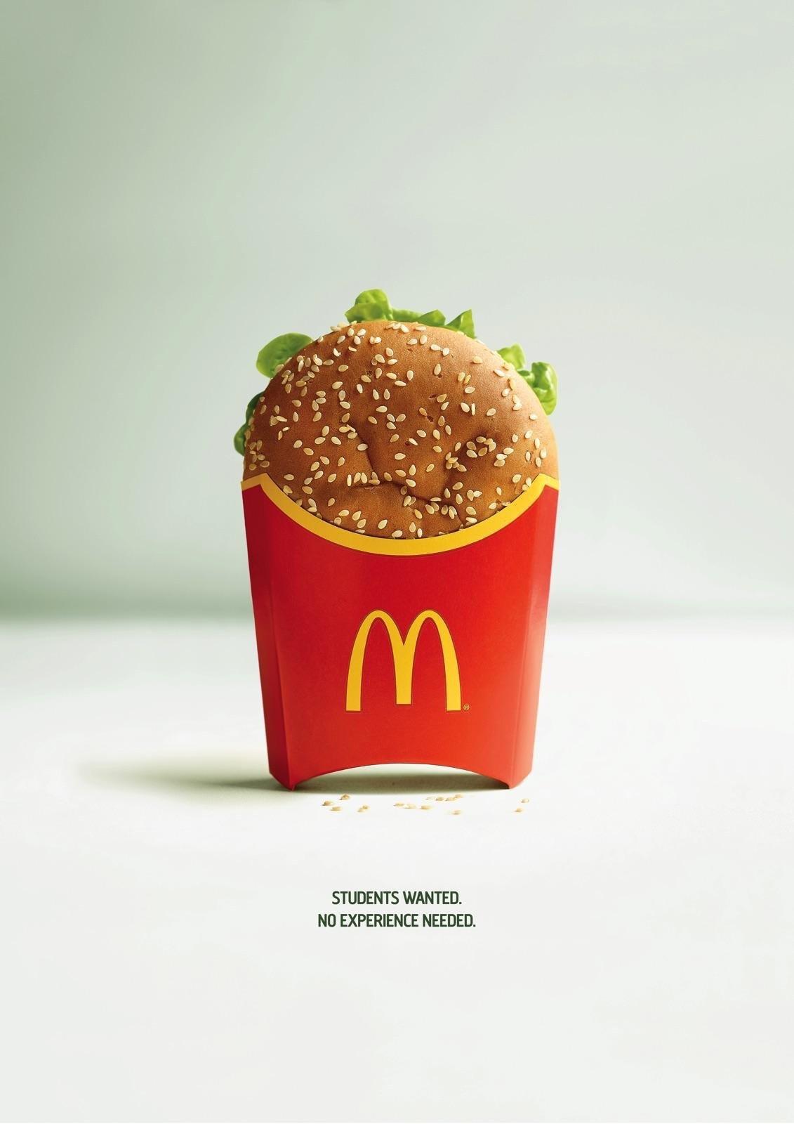 McDonalds Recruitment Ad