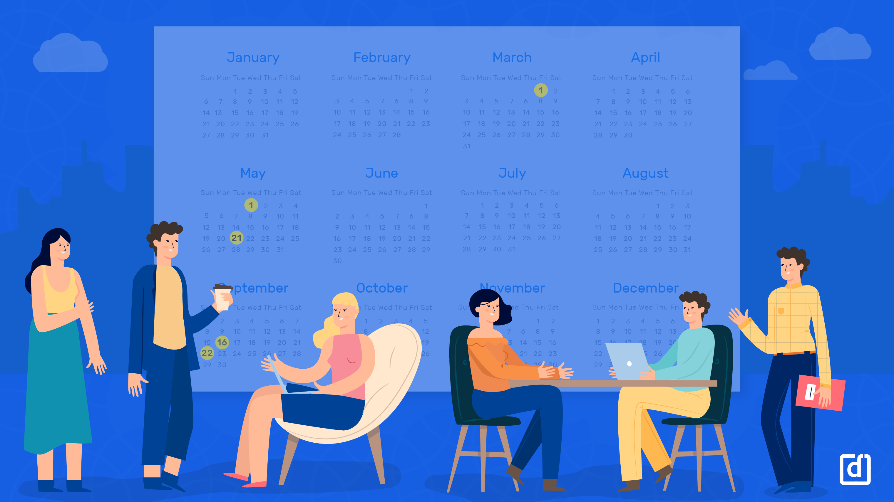 5 Dates You Shouldn't Miss For Employee Engagement