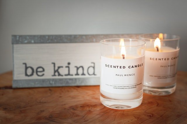 scented candles_diwali gifts for employees